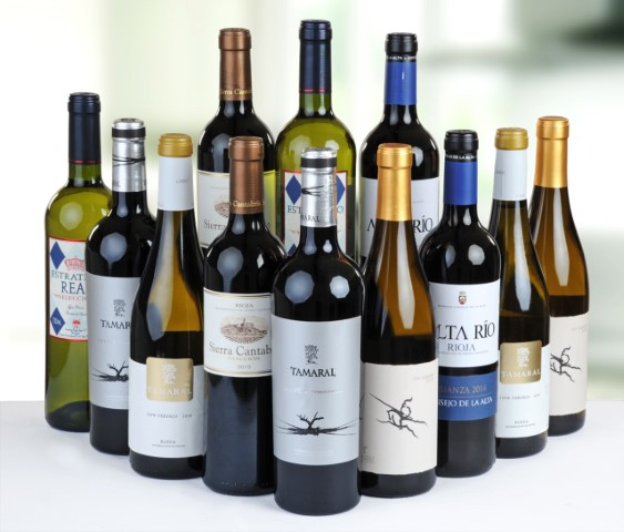12 Bottle Case of Mixed Platinum Wines