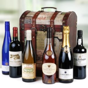 6 Bottle Premium Wine Treasure Chest