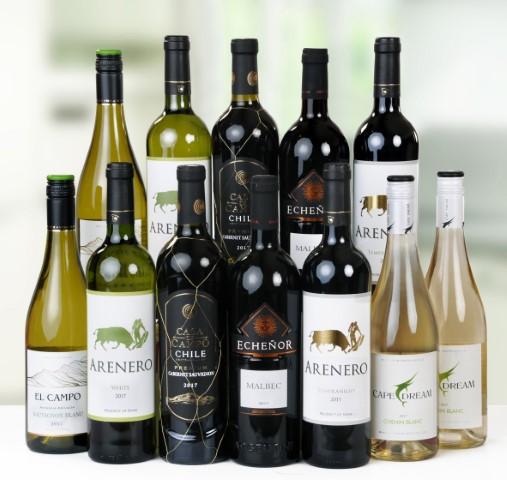 12 Bottle Mixed Case Of Quaffing Wines