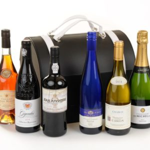 6 Bottle Luxury Leather Wine Bag