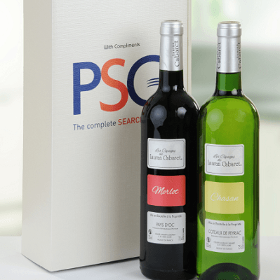 double card wine box
