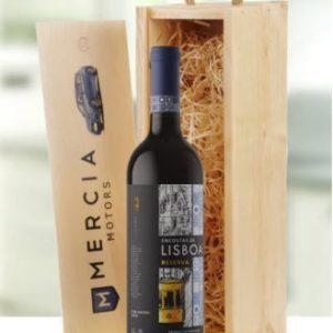 Personalised Single Wine Gift