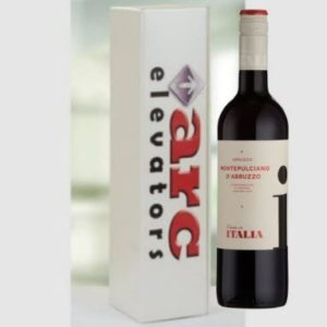 Single Wine Gift Box With Company Logo